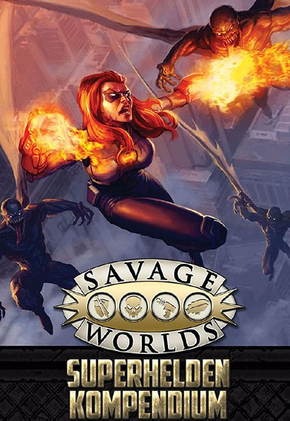Savage Worlds: Superhelden-Kompendium (HC)