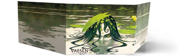 Vaesen - Nordic Horror: GM Screen and Map