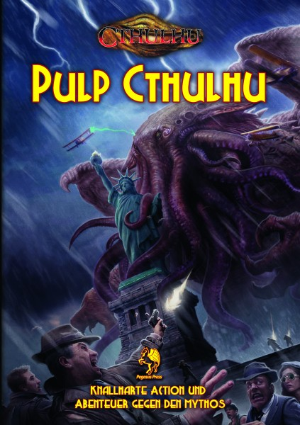 Cthulhu: Pulp Cthulhu (Hardcover)