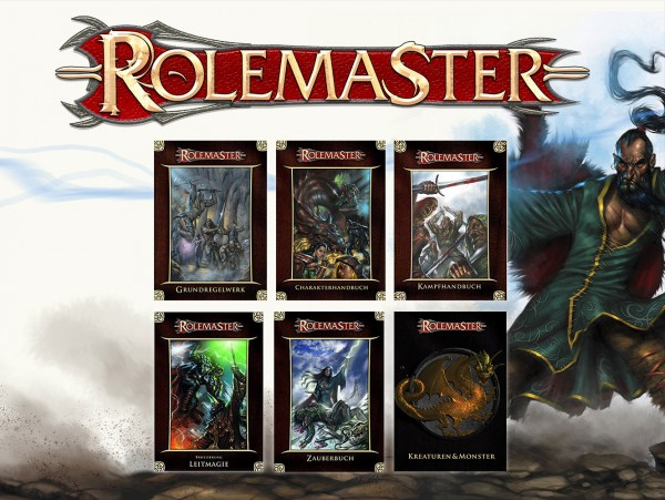 Vorbestellaktion: Rolemaster - Regel-Bundle