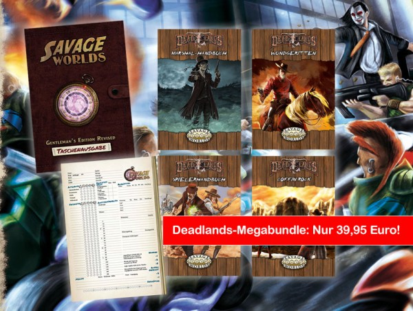 Savage Worlds - Deadlands-Megabundle
